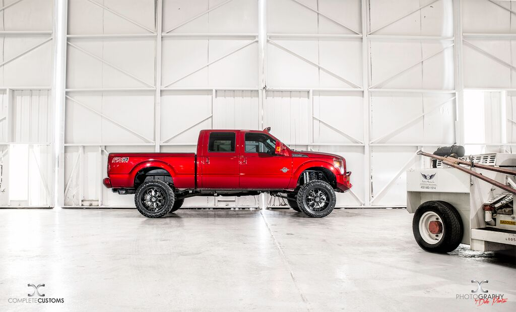 Sewell Ford Odessa >> Sewell Ford Ruby Red F250 Odessa Tx Complete Customs